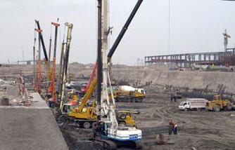 预应力管桩基础工程